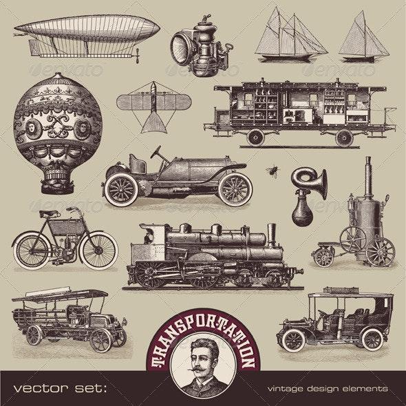 Vintage Means of Transportation (1) - Retro Technology