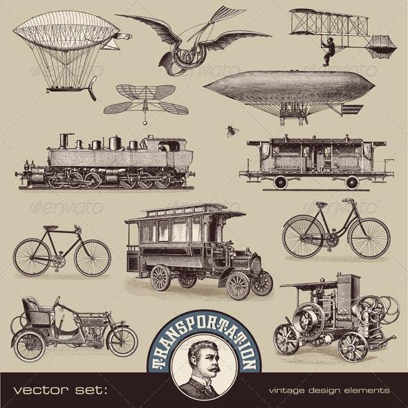Vintage Means of Transportation (2) - Retro Technology