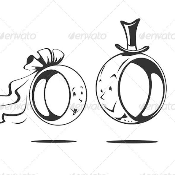 Bride and Groom Wedding Ring