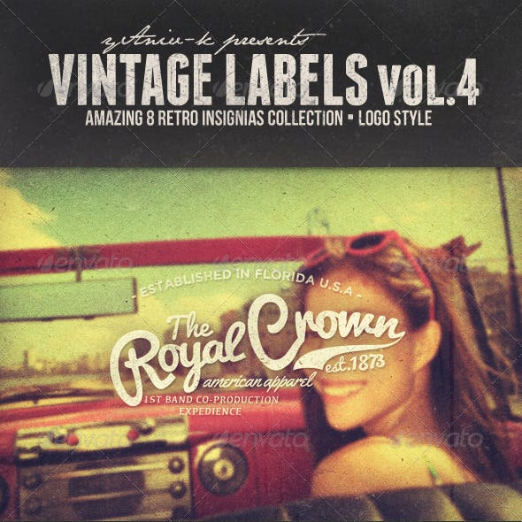 Vintage Labels Vol.4