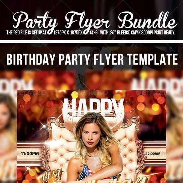Party Flyer Bundle V2