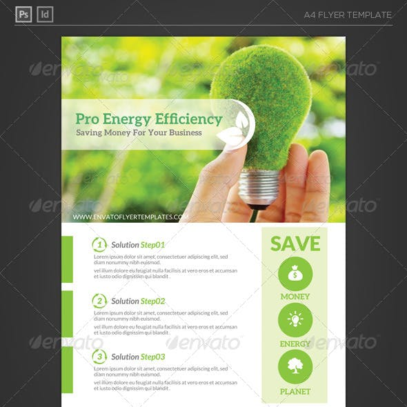 Business Energy Efficiency Flyer