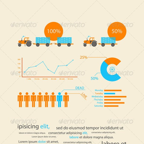 Infographics as a business record development