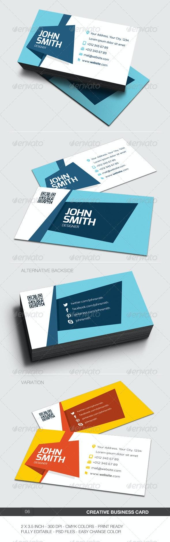 Creative Business Card - 06 - Creative Business Cards