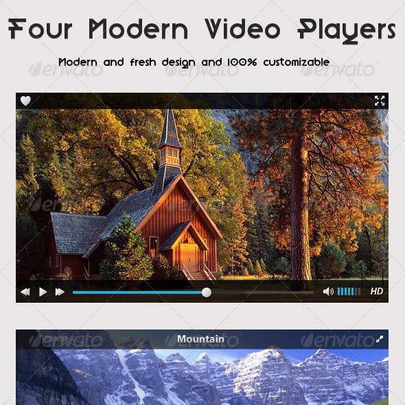 Four Modern Video Players