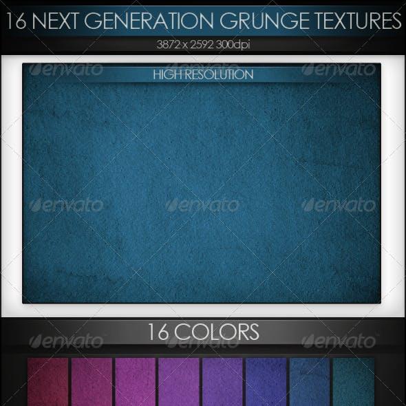 16 Next Generation Grunge Textures