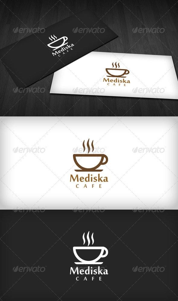Mediska Cafe Logo - Food Logo Templates
