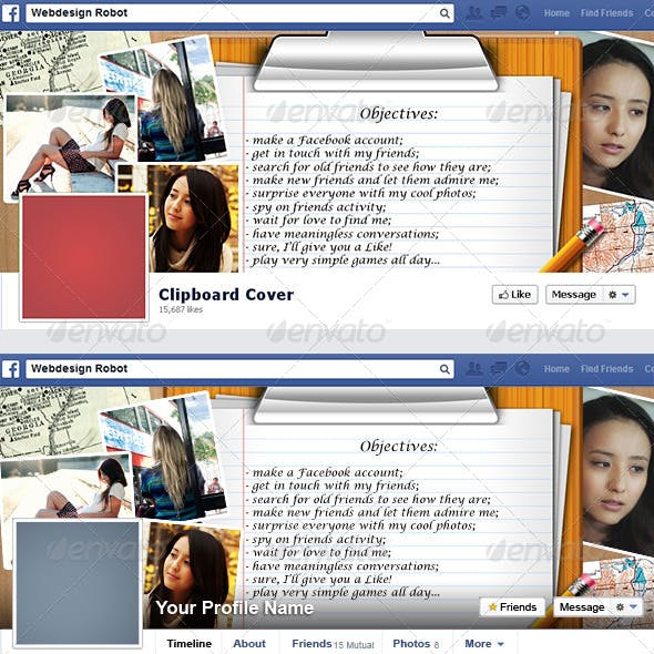 Clipboard Facebook Timeline Cover