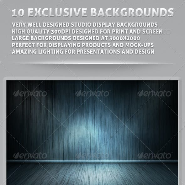 Empty Room Mock Up Backgrounds