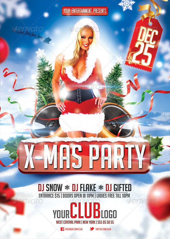 X-Mas Party Flyer - Events Flyers