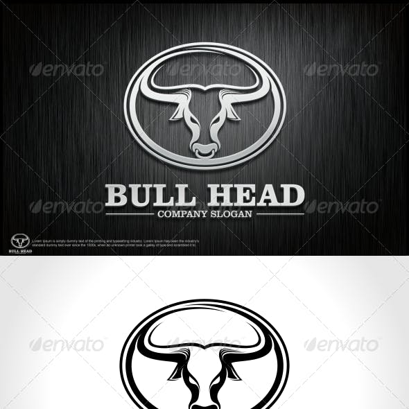 Bull Head Logo Template