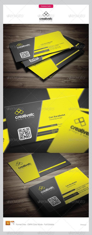 Corporate Business Cards 395 - Corporate Business Cards