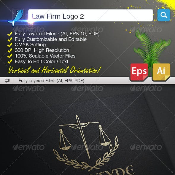 Law Firm Logo 2