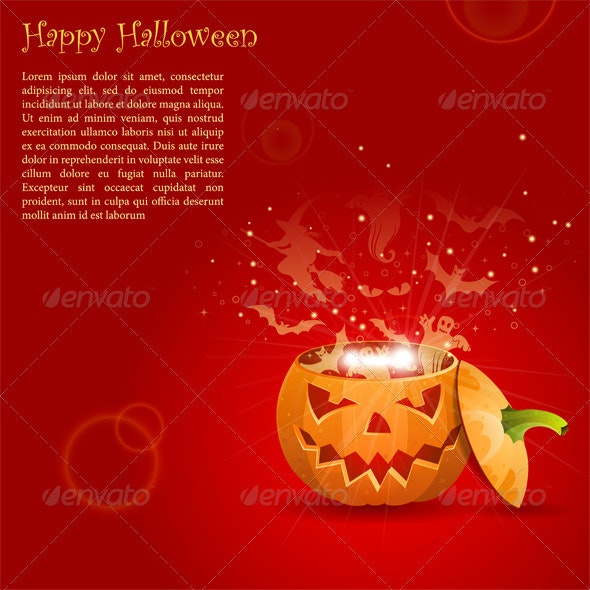 Greeting Card Halloween - Halloween Seasons/Holidays