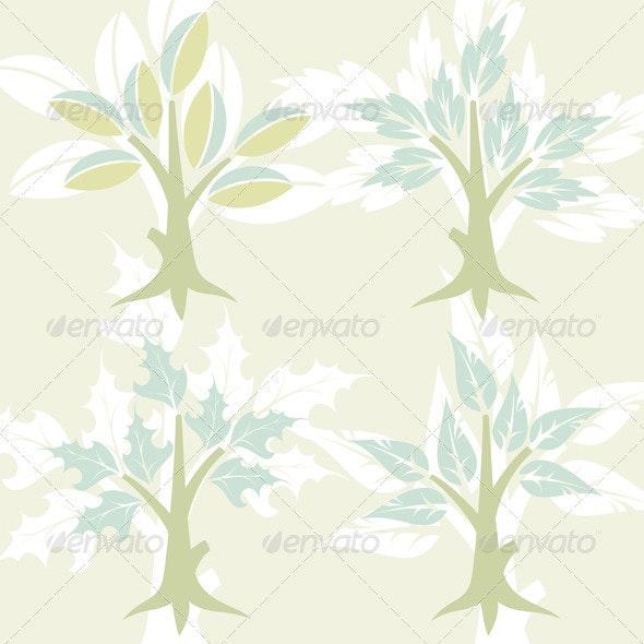 Stylized Tree - Flowers & Plants Nature