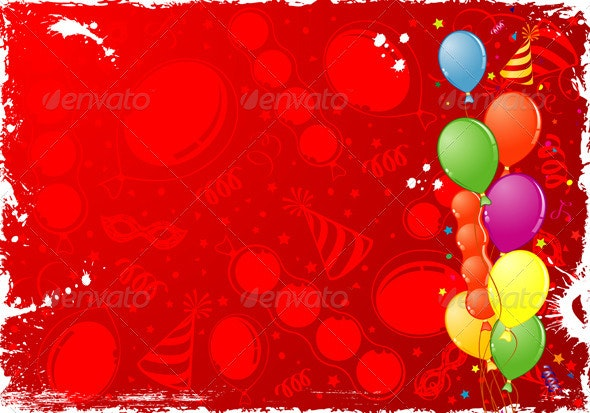 Birthday Frame - Birthdays Seasons/Holidays