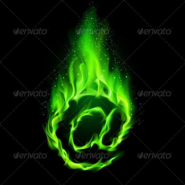 Fiery E-mail Symbol