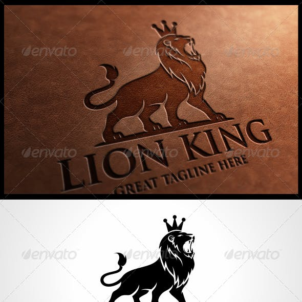 Lion King Logo Template