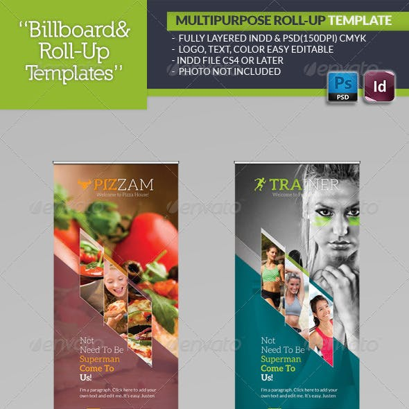 Multipurpose Roll-Up Template