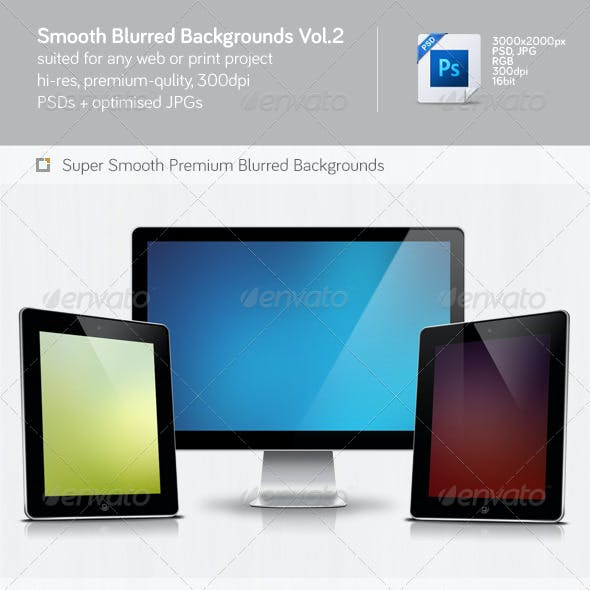 Smooth Blurred Backgrounds Vol.2