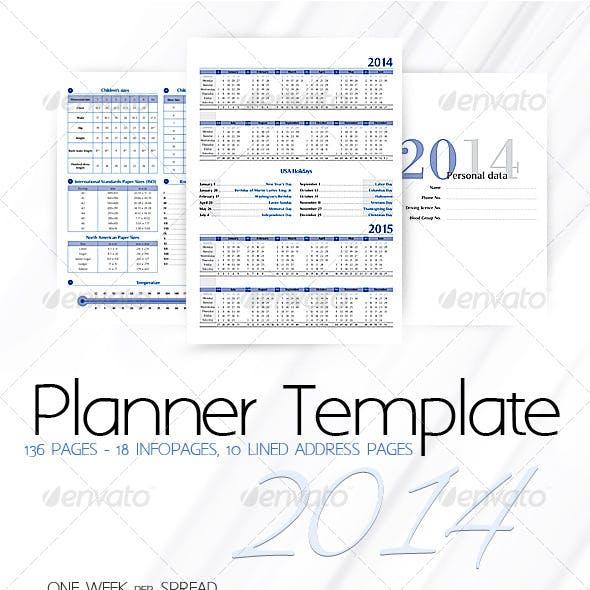 Planner-Diary-Organizer 2014