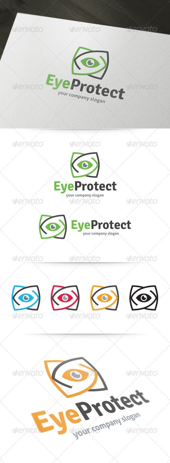 Eye Protect Logo - Abstract Logo Templates