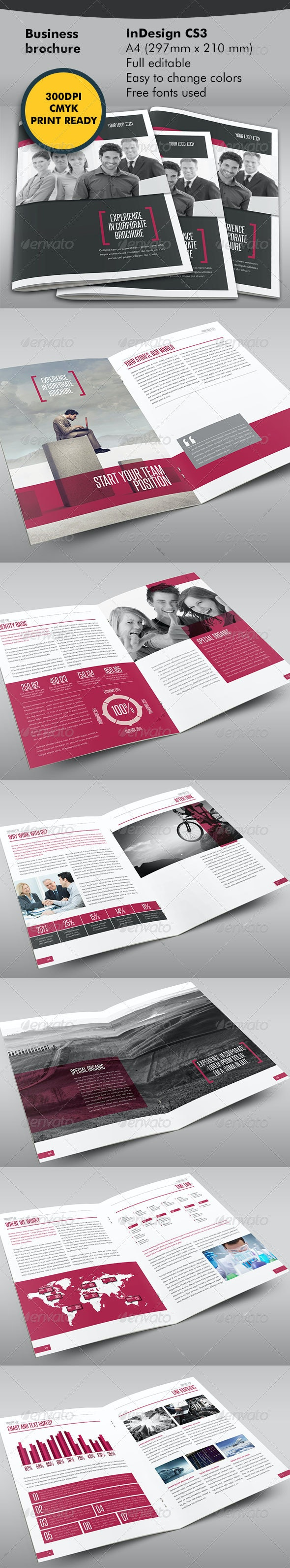 Business One Step Further Brochure - Corporate Brochures