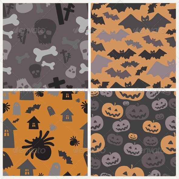 Halloween Patterns - Patterns Decorative