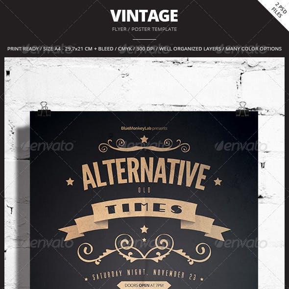 Vintage Flyer / Poster 5