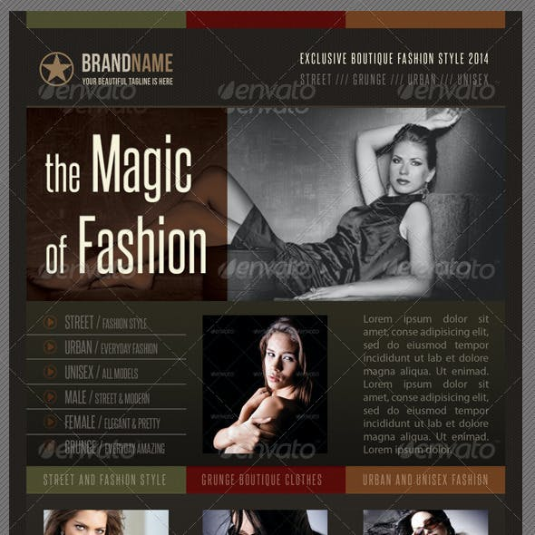 Fashion Product Flyer 08