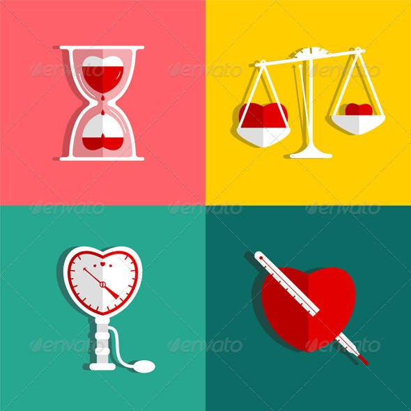 Love Measure and Medicine Heart Checkup Set