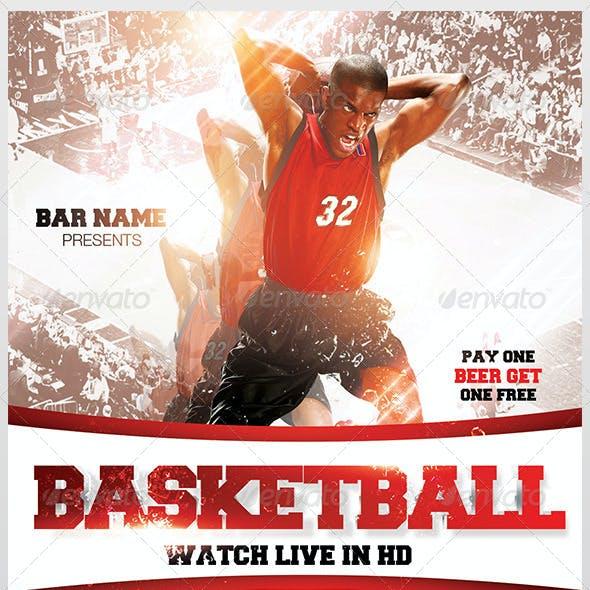 Basketball Flyer Template 3.0