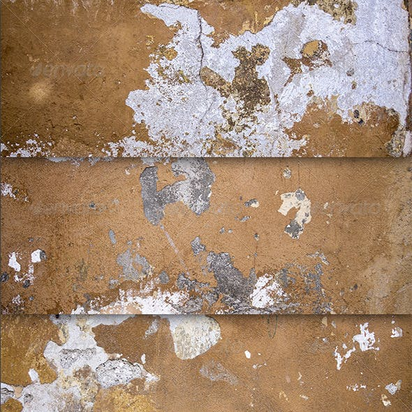 4 Grunge Cracked Wall Textures