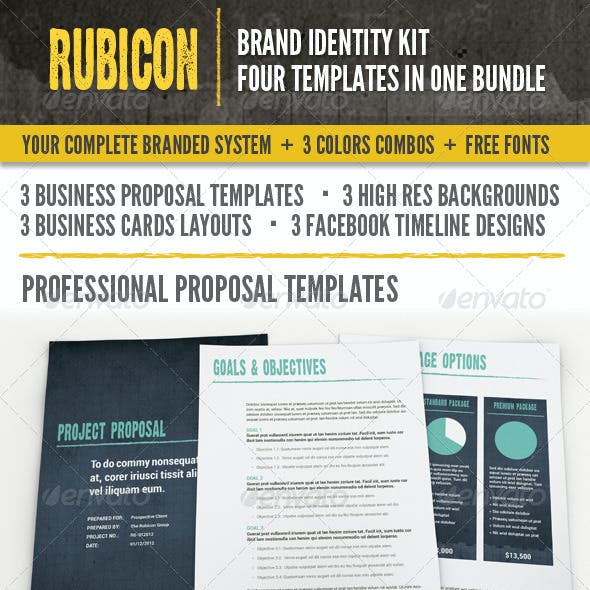 Rubicon Branded Identity Kit Bundle