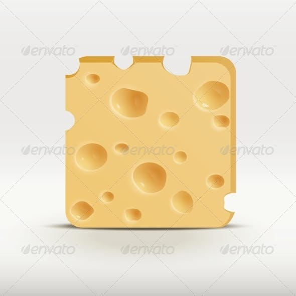 Web App Icon of Cheese.
