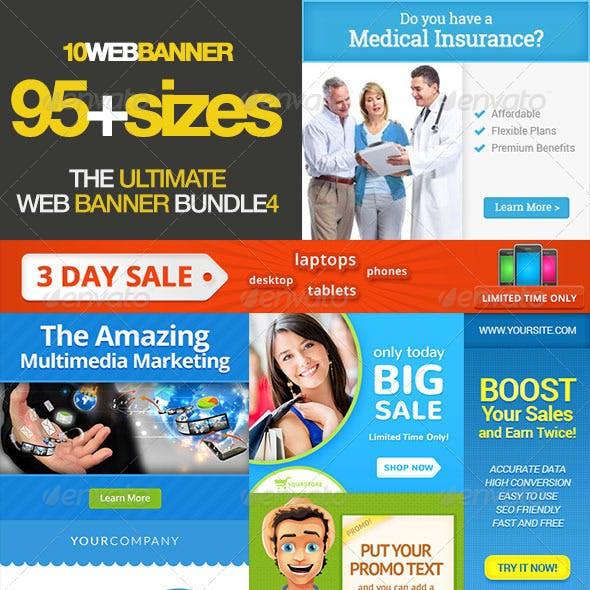 Ultimate Banner Ad Set Bundle Vol. 4