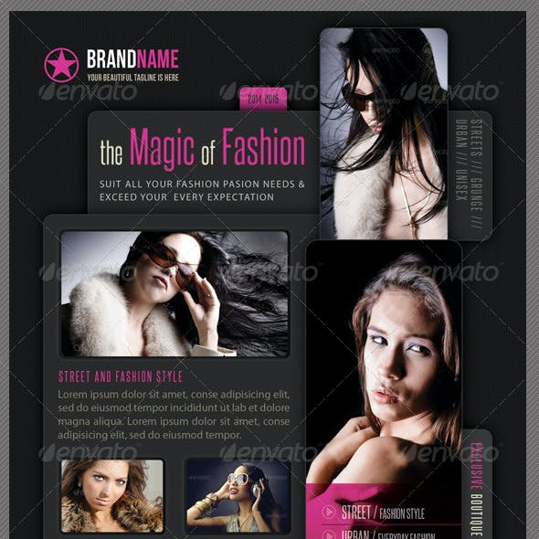 Fashion Product Flyer 09