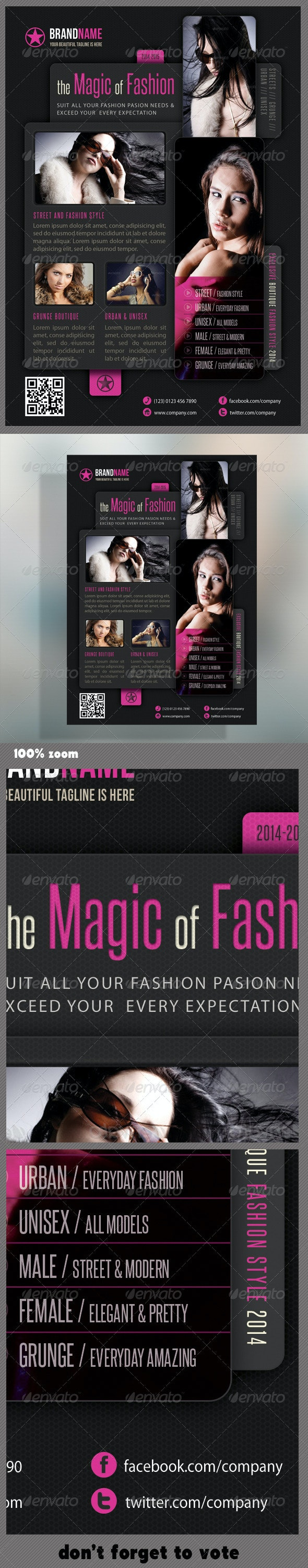 Fashion Product Flyer 09 - Events Flyers
