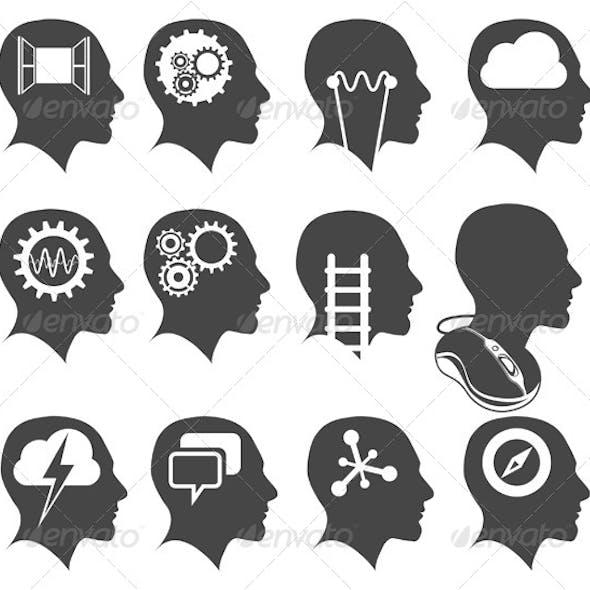 Creative Heads Illustration