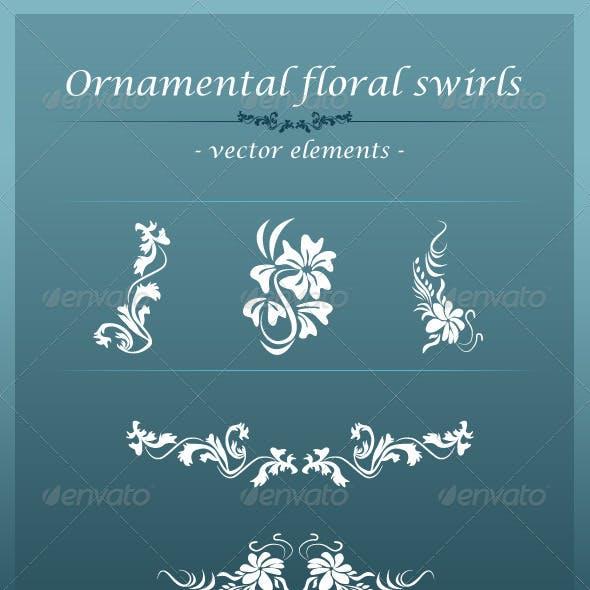 Ornamental Floral Swirls