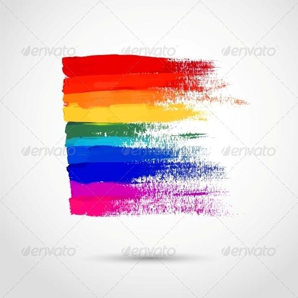 Rainbow Strokes