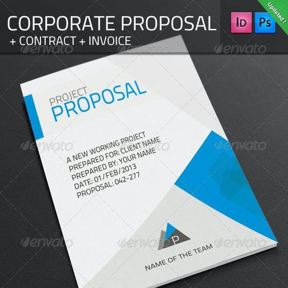 Corporate Proposal + Contract + Invoice