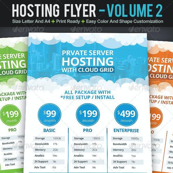 Hosting Flyer | Volume 2