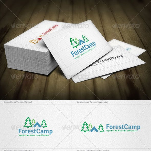 Forest Camp Logo