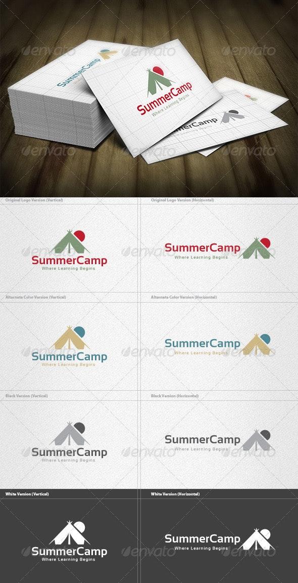 Summer Camp Logo - Nature Logo Templates