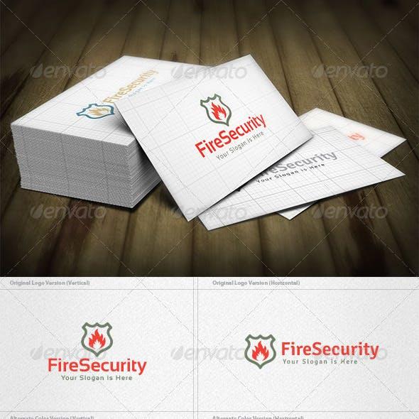 Fire Security Logo