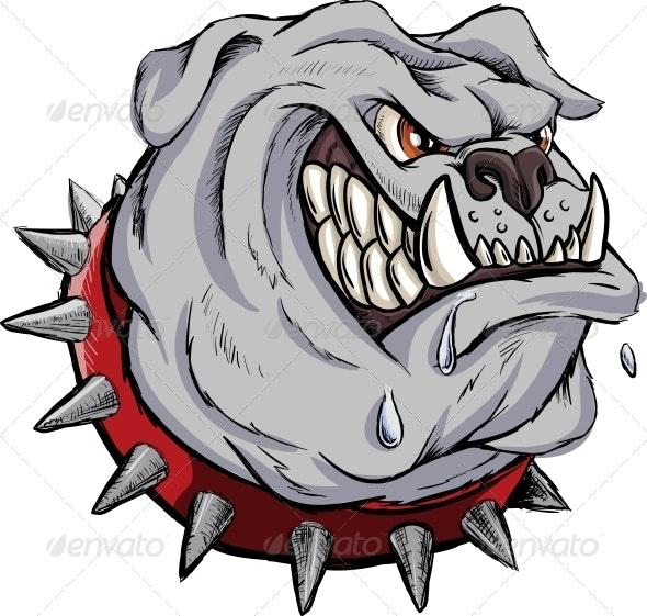 Furious Bulldog - Animals Characters