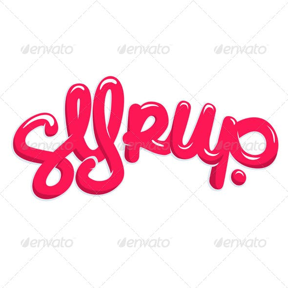 Candy Syrup Text
