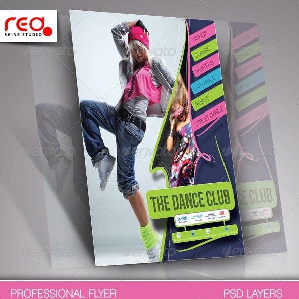 Dance Academy Flyer & Poster Template - 2