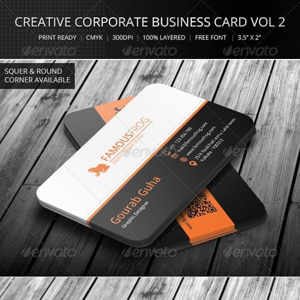 Creative Corporate Business Card Vol 3